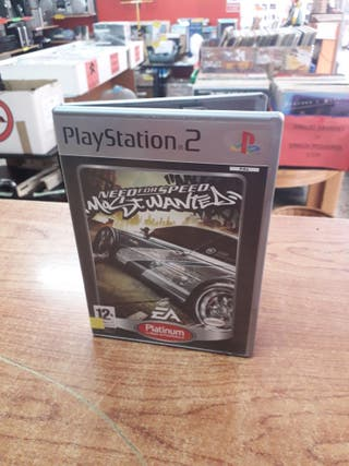 JUEGO PS2 NEED FOR SPEED MOST WANTED