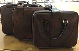 Juego de maletas vintage