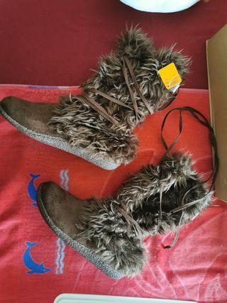 botas mujer de hinvierno