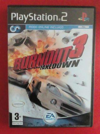 juego ps2. burnout 3 takedown