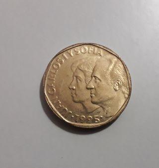 Moneda de 500 pesetas 1995 SC