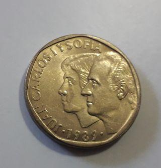 Moneda de 500 pesetas 1989 SC