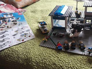 Lego estación policía vintage
