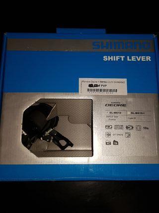 mandos Shimano Deore 2x10 3x10 nuevos