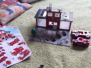 Lego estación de bomberos vintage