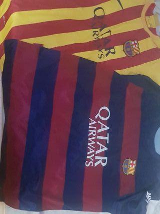 camisetas de fútbol del Barcelona