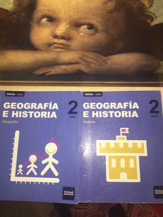 Libros de geografía e historia 2eso