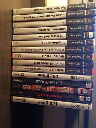Juegos PS2 y PC