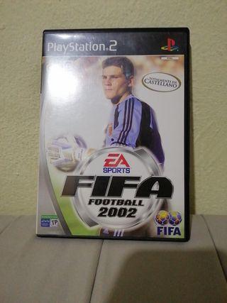 juego para PlayStation 2 fifa 2002