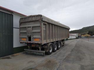 Caja básculante, remolque, camion, trailer,
