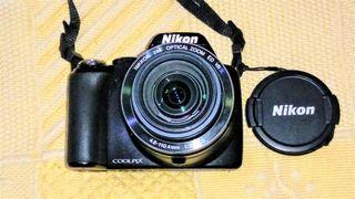 Camara Nikon Coolpix P90.