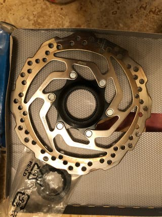 Pareja de discos de freno shimano