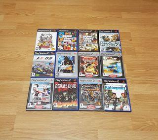 Pack de Juegos Ps2