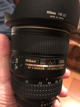 Nikon 17-35mm F2.8 NUEVO !!!
