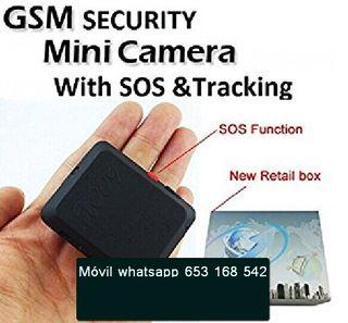 Micrófono-espia SIM mini seguridad