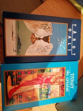 cartas del tarot Dalí y cristal