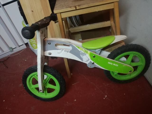 bici bicicleta madera