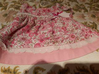 vestido de niña de 3 a 6 meses