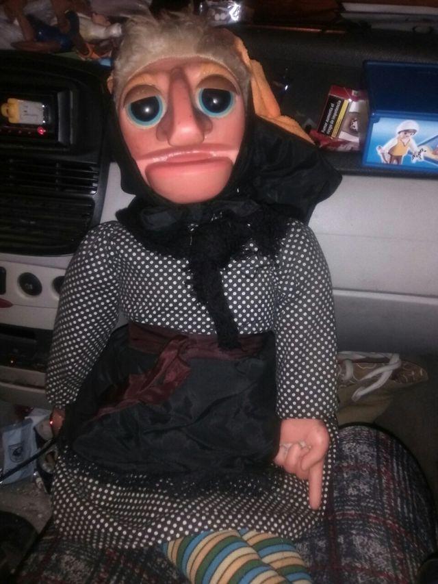 marioneta doña rogelia