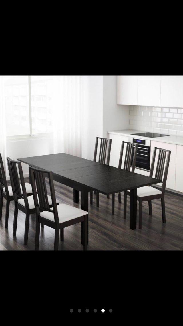 Mesa Comedor Ikea Con 4 Sillas