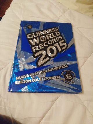 Libro RECORDS GUINNESS 2015 edición coleccionista