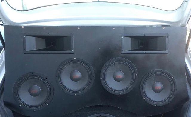 Equipo de Música coche(medios spl)