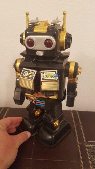 ANTIGUO SPACE ROBOT JUGUETE AÑOS 80 VINTAGE BOTOY
