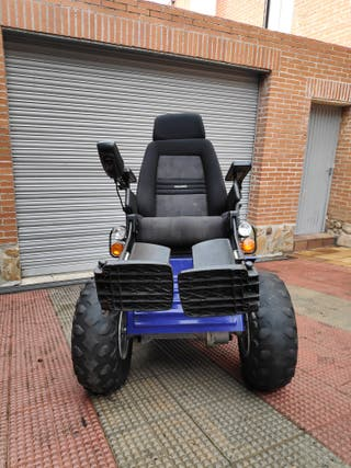 Silla ruedas eléctrica 4x4