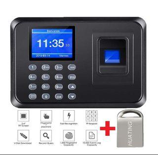 Sistema de control de asistencia biométrico [NUEV]