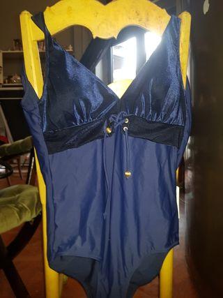 maillot de bain bleu 4XL