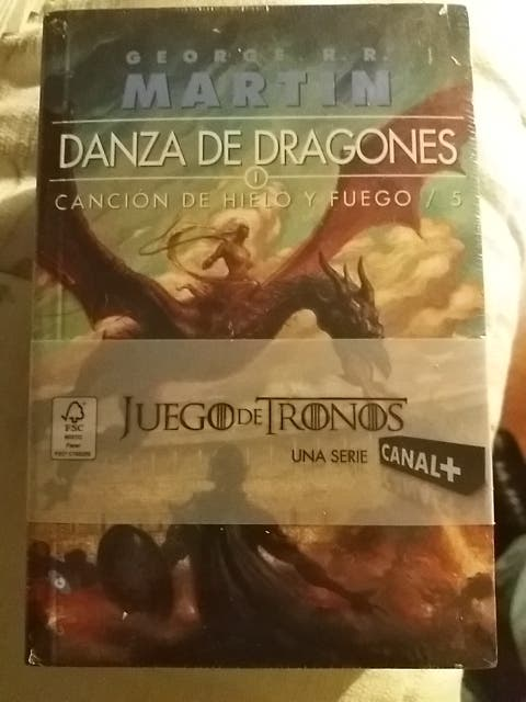 Danza de Dragones Volúmenes 1 2 y 3 Precintados