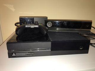 X box one + kinect + 1 mando y FIFA de regalo