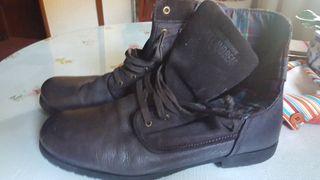 botas cuero n.45