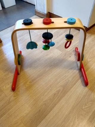 gimnasio para bebé, abedul, multicolor de IKEA
