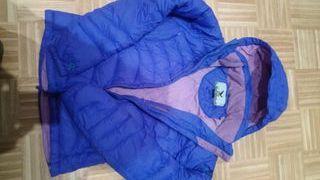 chaqueta plumas salewa talla S