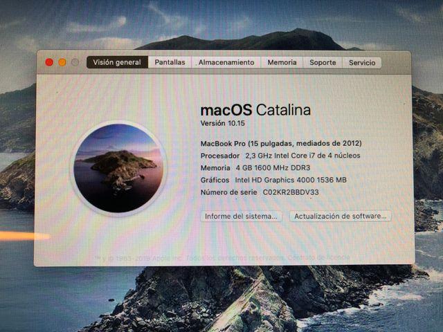 Macbook Pro - A1286 - 2012 - i7-3615QM