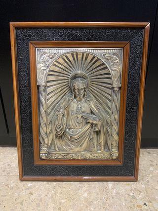 Cuadro de jesucristo muy antiguo