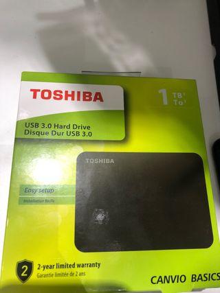 Disco duro externa 1tb