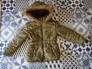 Abrigo de niña talla 3 años