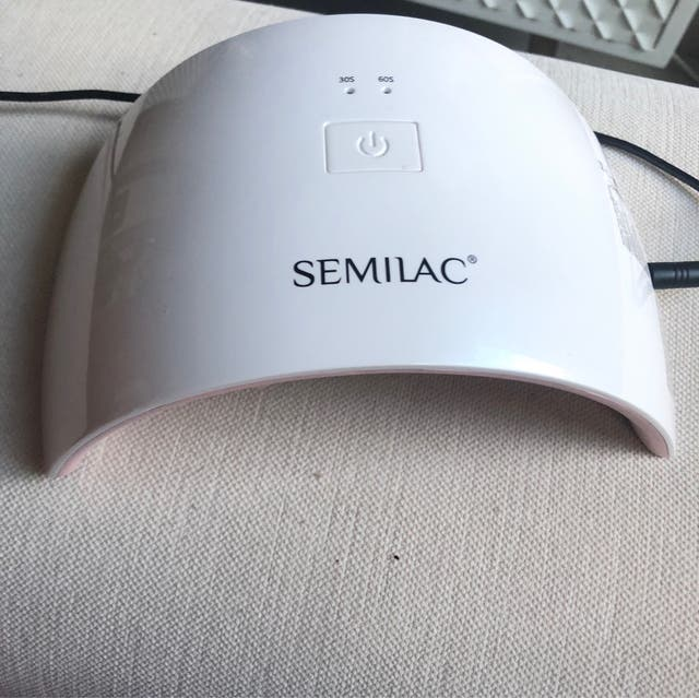 Lámpara uv 24 w Semilac