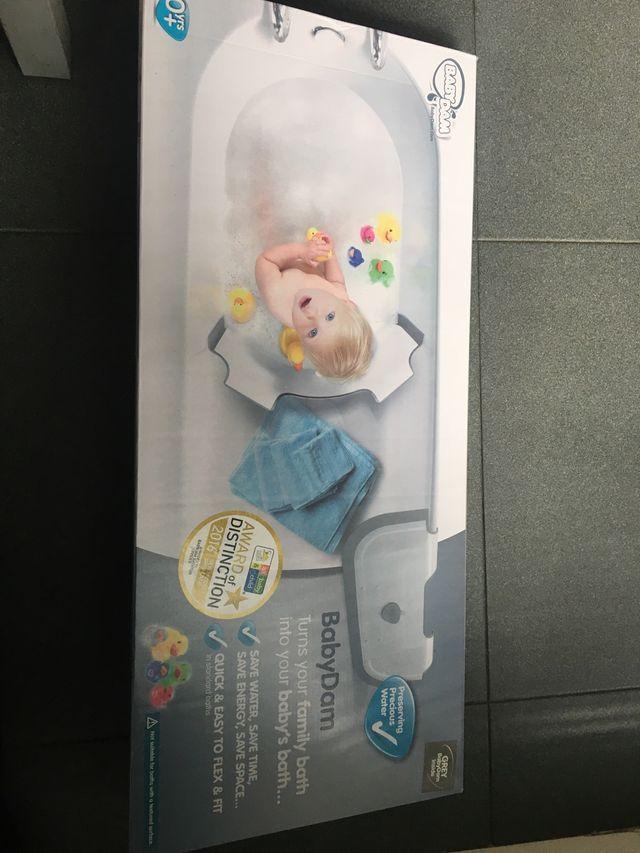 Barrera reductora de bañera baby dam