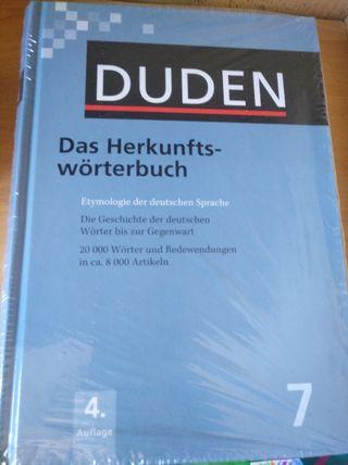 Diccionario etimológico alemán