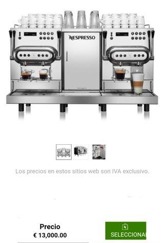 cafetera profesional Nespresso águila 420