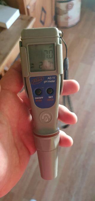 medidor de ph y temperatura adwa