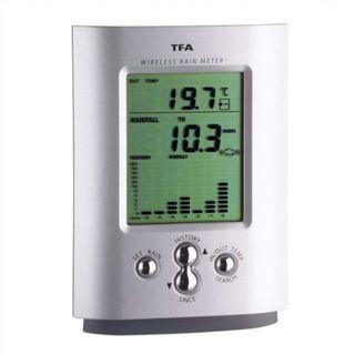Pluviómetro digital / Medidor de Temperatura y Llu