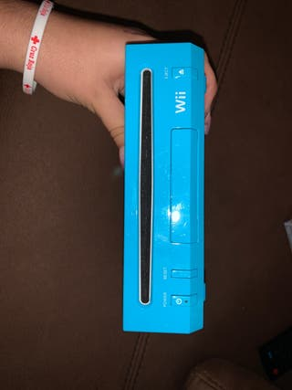 Wii Nintendo Azul