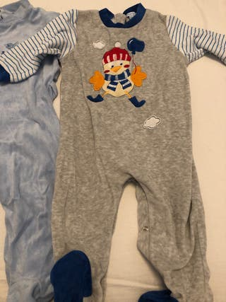 Pijamas niño talla 18 medes