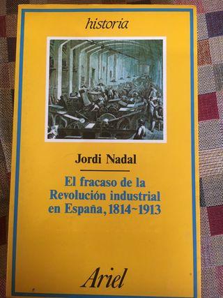 El fracaso de la revolución industrial 1814-1913.
