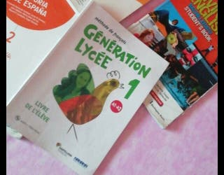 Libro de francés bachillerato