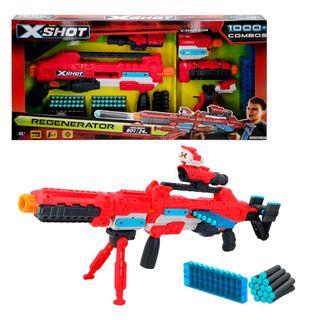 Pistola Regenerator con 60 dardos
